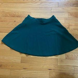 💥5/$25 Forever 21 green skater skirt size x-small